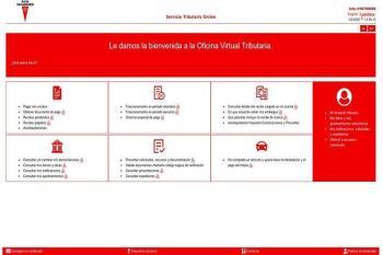 El recibo se obtendrá a través de la Oficina Virtual Tributaria