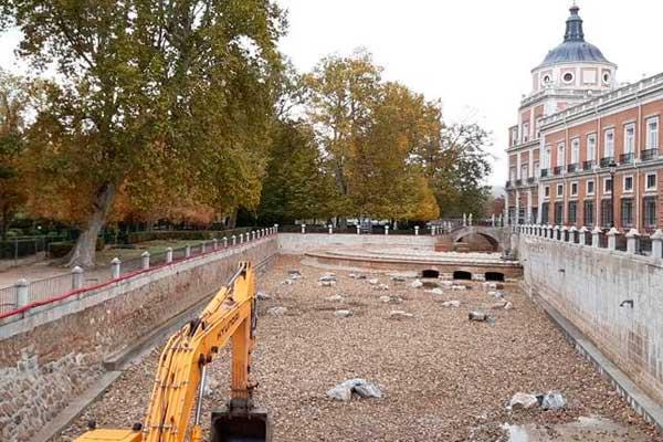 Palacio de Aranjuez: Una restaurada Ría verá la luz en 2021
