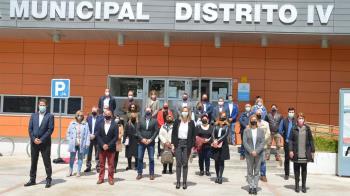 La candidata número 9 en las listas de Isabel Díaz Ayuso visita Alcalá para reunirse con los alcaldes populares de la Mancomunidad del Este