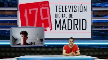 El jugador de tenis de mesa del TM Parla, Miguel Ángel Pantoja, repasa en TV de Madrid su año de éxitos y su participación en el Campeonato Europeo