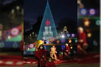 Papá Noel y sus pajes han recibido los deseos de los niños de Arganda del Rey