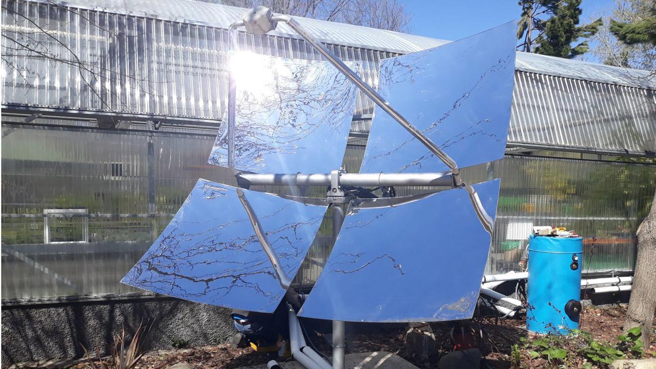 La nueva incorporación capta la energía solar para producir calefacción y agua caliente sin la emisión de gases de efecto invernadero