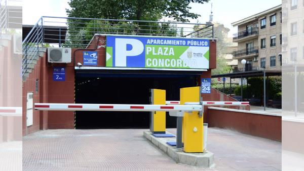 El parking de la Concordia será gratuito hasta el 31 de Diciembre