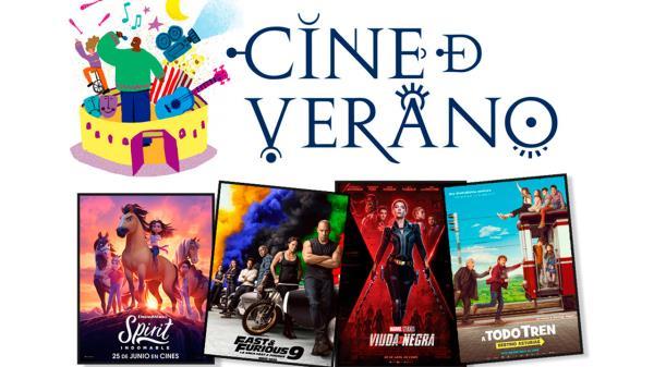 Este viernes, comienza la programación del Cine de Verano