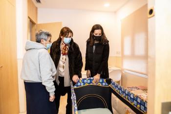 La residencia religiosa Villa Paz atiende a 55 menores de entre 0 y 18 años