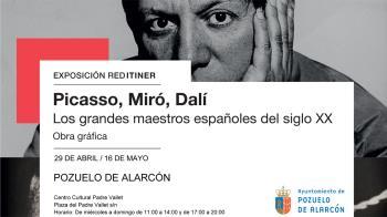 Los tres iconos de la pintura del siglo XX reviven en una exposición que se se podrá visitar hasta el 16 de mayo