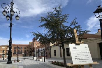 Inauguración plaza de la Constitución Humanes de Madrid