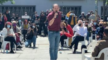 Al acto ha acudido Pablo Iglesias, Yolanda Díaz o Isa Serra