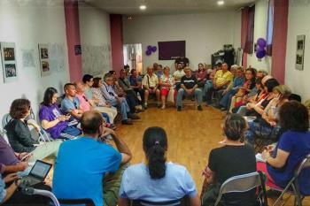 """El grupo morado ha planteado la posibilidad de que se ocupen viviendas """"por necesidad"""""""