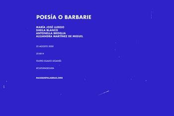El evento contará con las actuaciones de Maria José Llergo, Sheila Blanco, Alejandra Martínez de Miguel y Antonella Broglia