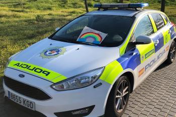 Si el servicio lo permite, la Policía de Alcorcón felicitará así a los más pequeños