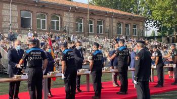 Se han clausurado los cursos de formación básica para policías de nuevo Ingreso y de ascenso a oficial