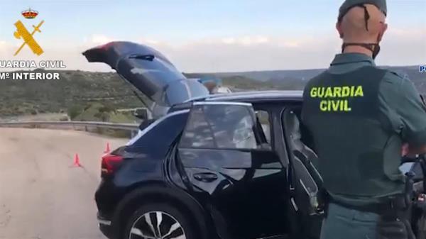La Policía Nacional incauta un total de 107 gramos de cocaína que se vendía por diferentes territorios españoles