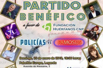 El Pabellón Europa de Leganés acogerá esta gala a favor de la Fundación de Huérfanos de Policía Nacional