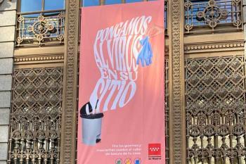 La Comunidad de Madrid lanza un mensaje de sensibilización a los ciudadanos sobre los residuos relacionados con el Covid
