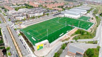 Tras unas obras interminables, el centro deportivo de Boadilla va cogiendo forma