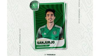 Mario Sanjurjo se convierte en el primer fichaje del CF Pozuelo de Alarcón para la temporada 2021/22