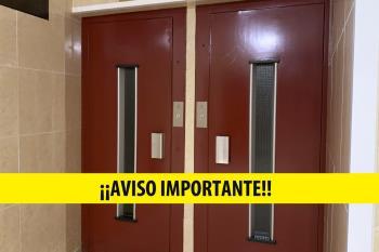 Aviso importante de las empresas de ascensores