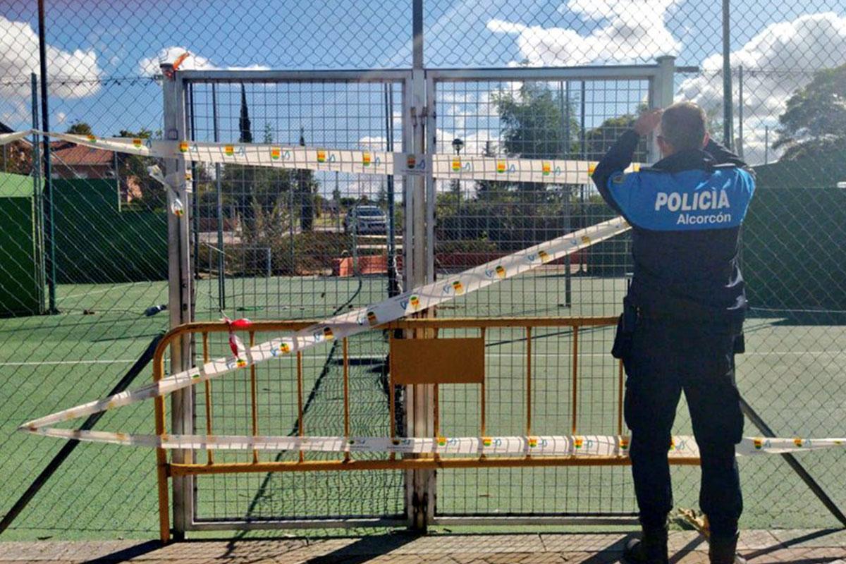 La Policía Municipal de Alcorcón denunciará a las personas que no respeten las indicaciones