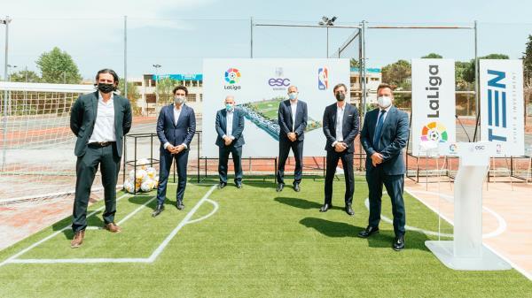 Presentan en Villaviciosa de Odón el ESC Madrid, un nuevo complejo deportivo