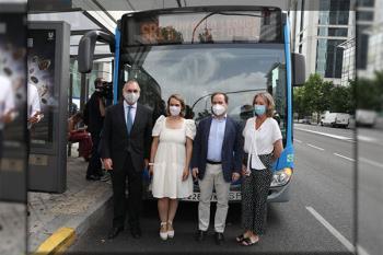 El EMT Smart Bus empieza a operar entre los hospitales 12 de Octubre e Infanta Leonor