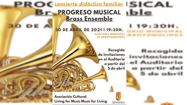 Arroyomolinos acoge el concierto Brass Ensemble