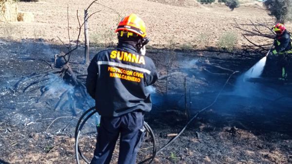 En apenas dos días se ha tenido que actuar de urgencia en incendios declarados