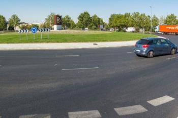 Las obras han supuesto la incorporación de un tercer carril para la circulación, mejorando la fluidez del tráfico