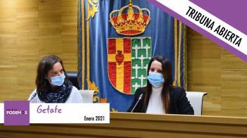Diego Pérez Baena, Secretario de Comunicación y Gestión de RRSS de Podemos Getafe, nos remite la tribuna de enero
