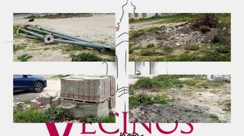 Los vecinos de la zona denuncian la inacción del Gobierno local ante la utilización del terreno como depósito de escombros y basura