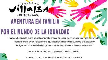 Collado Villalba ofrecerá sesiones para potenciar las actividades en equipo y las relaciones igualitarias