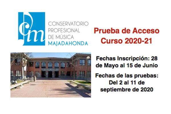 ¿Quieres formar parte del Conservatorio de Música de Majadahonda? Tienes hasta el 15 de junio para inscribirte en las audiciones