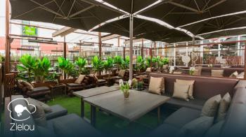 Zielou estrena su terraza de Chamartín, un espacio que no te puedes perder