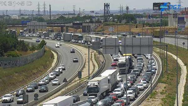 En la A-2 dirección Guadalajara nos espera una cámara que no perdona el exceso de velocidad