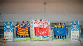 El colmenareño se ha llevado el oro en la modalidad de arco compuesto por equipo en donde representaba a la Comunidad de Madrid