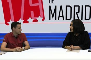 El concejal de Feminismo y Diversidad de Fuenlabrada repasa su primer año al frente del área en Televisión de Madrid