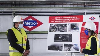 Concluyen las obras entre las paradas de Sainz de Baranda y Pacífico