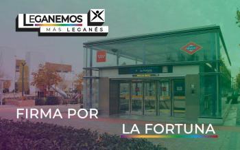 Leganemos propone una nueva línea de autobús que conecte La Fortuna con Leganés Central y el Hospital