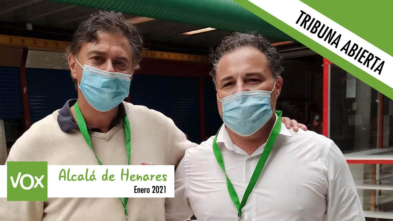 Opinión | Tribuna abierta del Grupo Municipal VOX en Alcalá de Henares