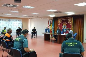 Se acentuarán las actuaciones de los cuerpos de seguridad y emergencias para frenar la COVID-19
