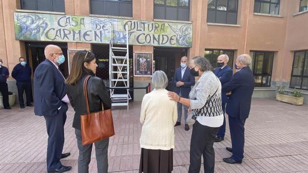 El Alcalde del municipio muestra por Twitter el nuevo aspecto de la fachada