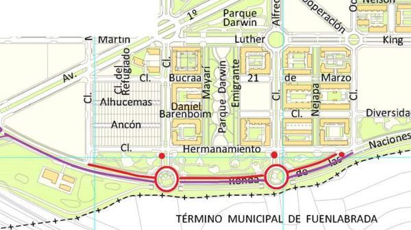 Las obras se han autorizado por la Demarcación de carreteras del Estado