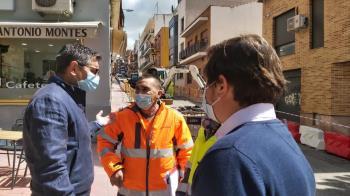 Las obras durarán ocho meses y cuentan con un presupuesto de 768.000 euros.