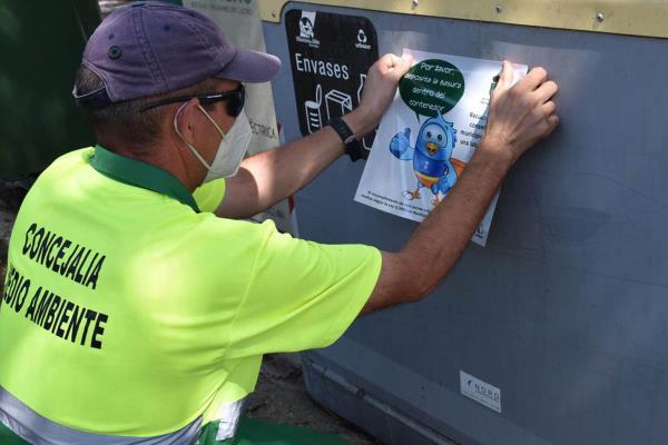 El ayuntamiento renueva una parte de los contenedores verdes