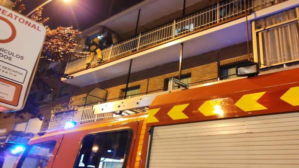 Rescatan a una menor en Alcorcón
