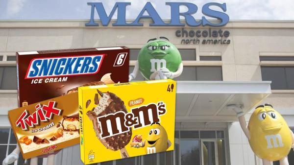 Mars ha retirado helados M&M's, Snickers y Twix por la presencia de óxido de etileno