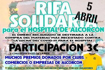 La cantidad de regalos que se rifan han sido cedidos por comercios, clubs y empresas. Una participación de 3€ en #RifaAlcorcon es la forma de colaborar.