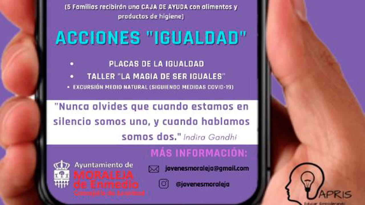 Moraleja de Enmedio estrena una actividad para celebrar el 19 de marzo