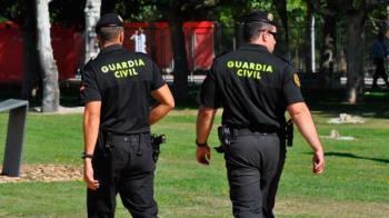 La guardia civil detiene a siete ladrones en el municipio madrileño