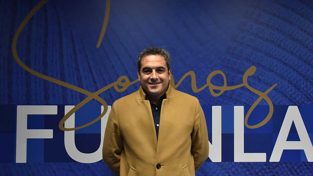 El ex canterano fuenlabreño sustituye en el puesto a Juan Pedro Navarro